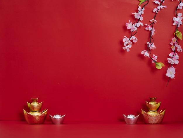 Decoración de año nuevo chino para festival de primavera