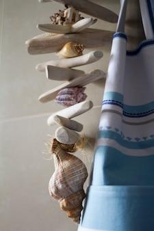 Decoracion de conchas marinas
