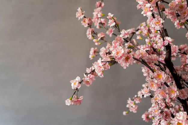 Decoración floral de año nuevo chino