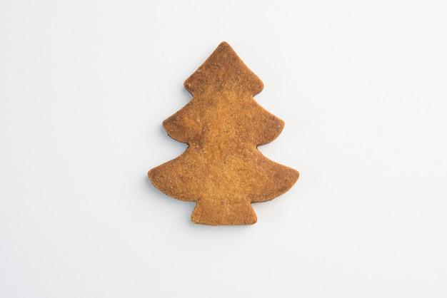 Decoración de galletas navideñas con glaseado aislado