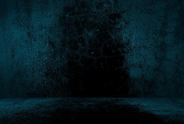 Decoración grunge con textura en la pared y el piso