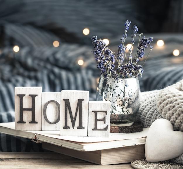 Decoración del hogar en el interior