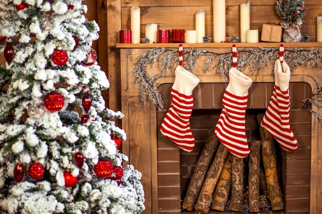 Decoración del hogar de navidad