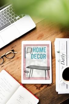Decoración del hogar sala de estar diseño de interiores de la casa