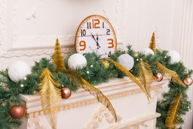 Decoración de navidad y año nuevo