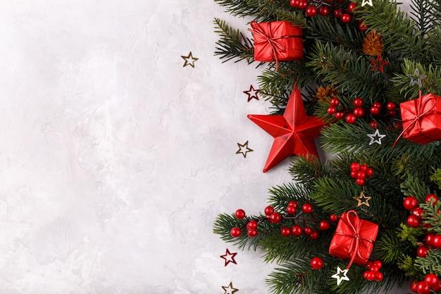 Decoracion navideña estrella roja