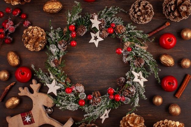 Decoracion vintage de navidad