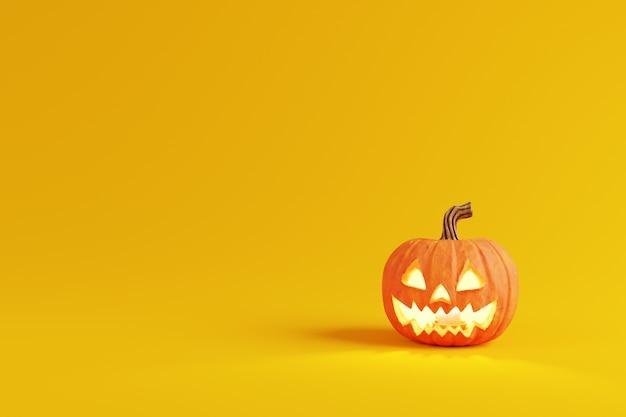 Decoraciones de calabaza de halloween