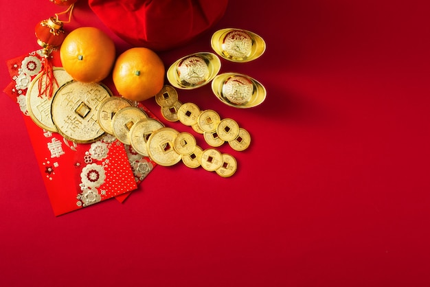 Decoraciones chinas de año nuevo