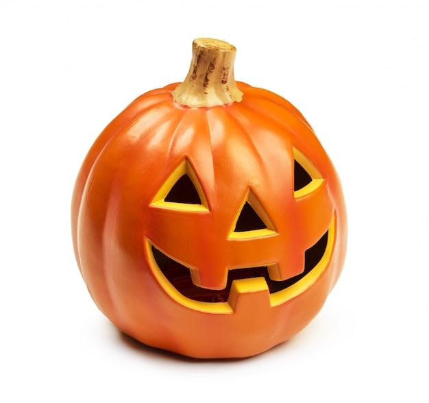 Decoraciones de halloween con estilo. calabazas decorativas.