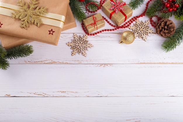 Decoraciones de navidad año nuevo