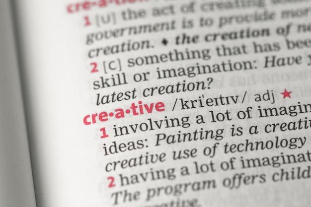 Definición creativa