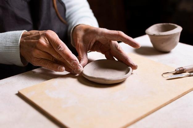 Definición de vasija de cerámica