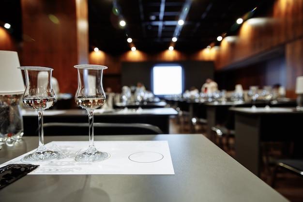 Degustación de tequila sala de degustación de alcohol foto de alta calidad