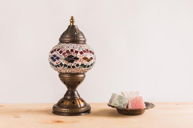 Delicias turcas en platillo