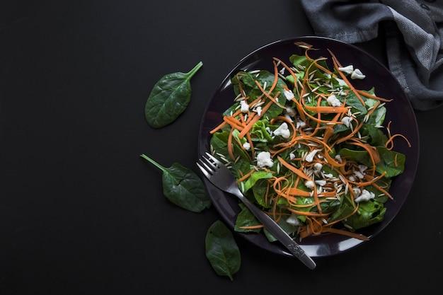 Deliciosa ensalada de vegetales
