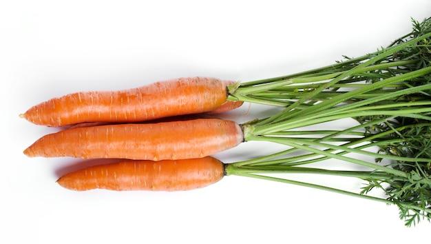 Deliciosa zanahoria cruda