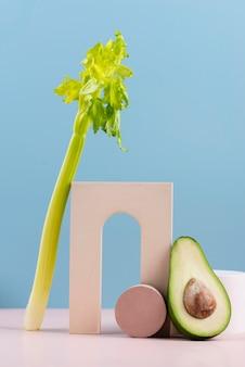 Deliciosas frutas y verduras frescas