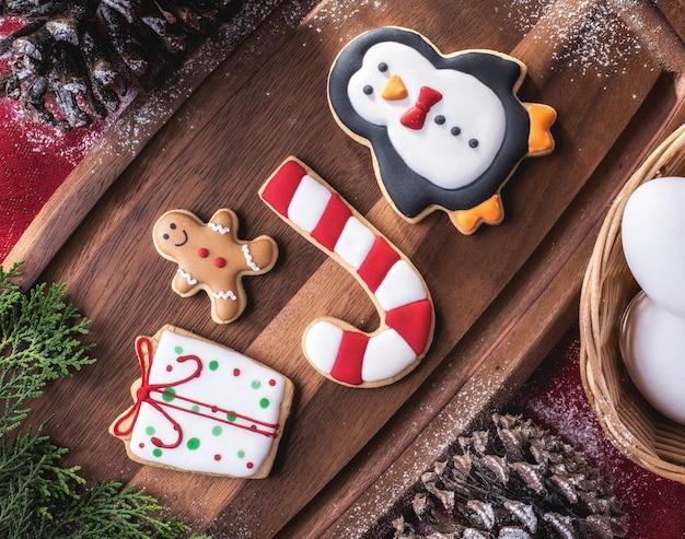 Deliciosas galletas navideñas