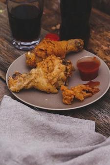 Deliciosas patas de pollo