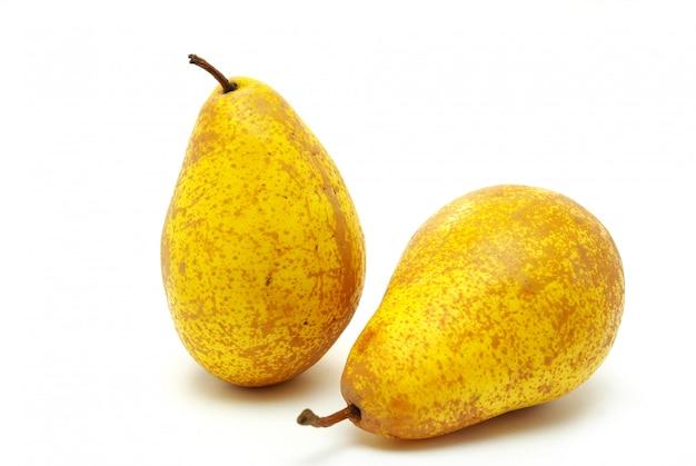 Deliciosas peras frescas