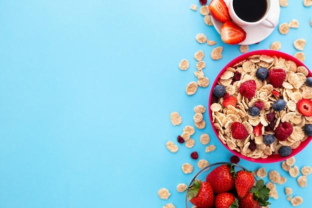 Delicioso desayuno saludable