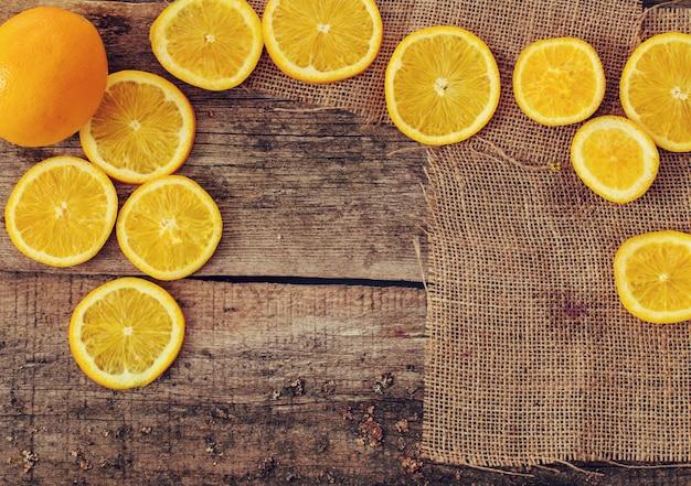Delicioso fondo naranja