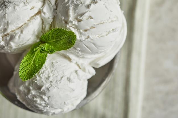 Delicioso helado casero