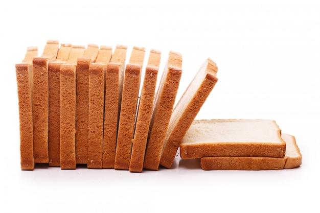 Delicioso pan sobre la mesa