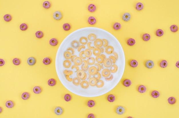 Delicioso sol hecho con cereales