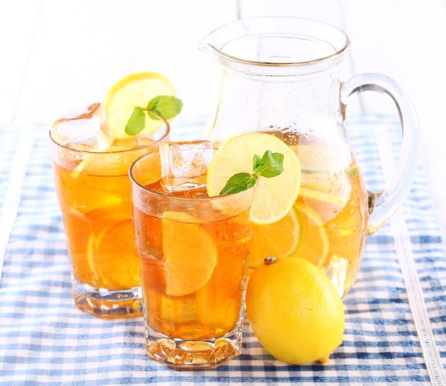 Delicioso té helado