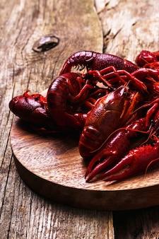 Deliciosos cangrejos de río