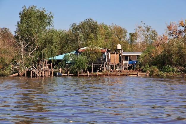 El delta del río tigre, buenos aires, argentina.