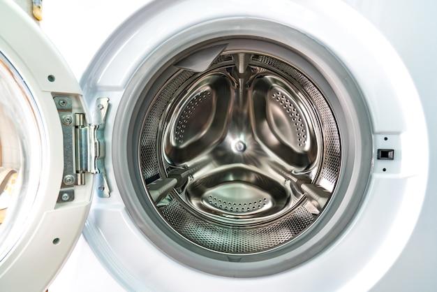 Dentro de la lavadora