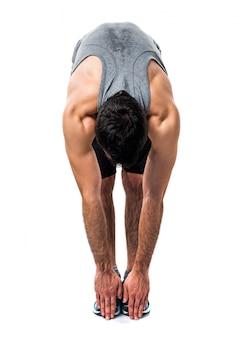Deporte barba de entrenamiento atlético de gran alcance