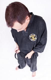 Deportista, karate