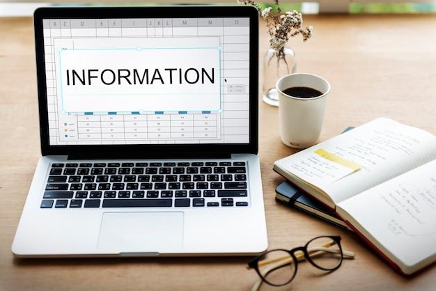 Desarrollo de objetivos de datos de información