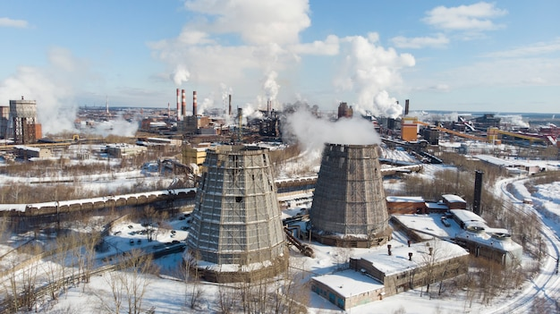 Desastre ambiental, ambiente pobre en la ciudad