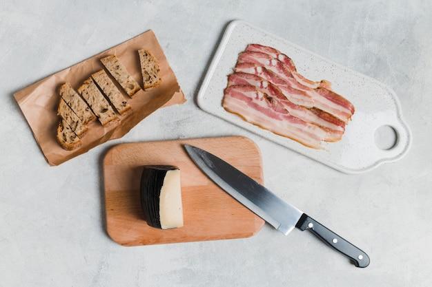 Desayuno con bacon