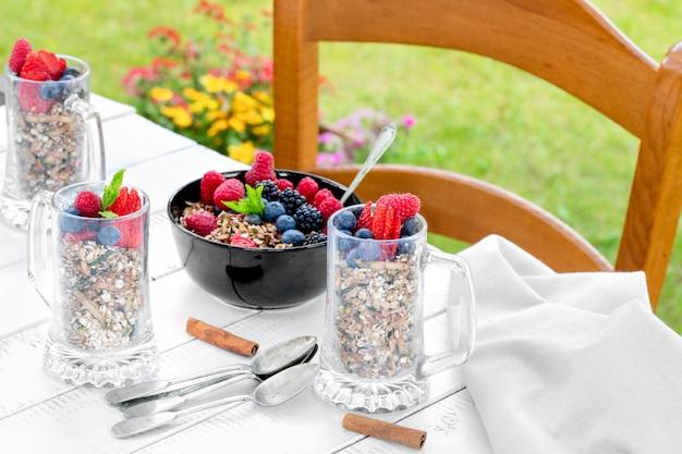 Desayuno con bayas