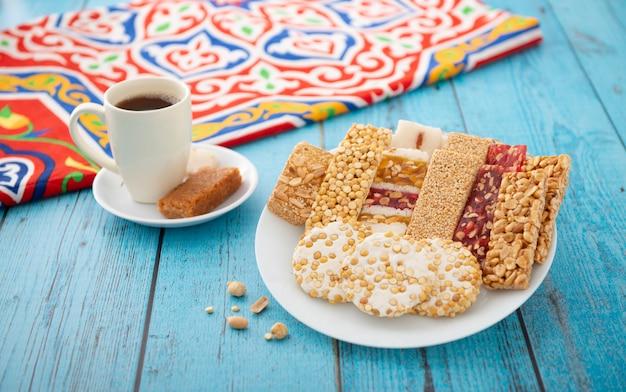 Desayuno de celebración del cumpleaños del profeta egipcio muhammad, cultura egipcia