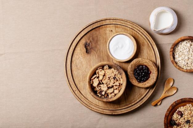 Desayuno de granola