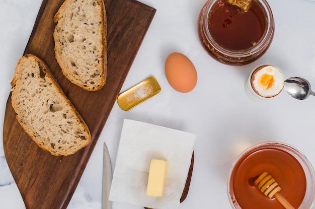 Desayuno con miel