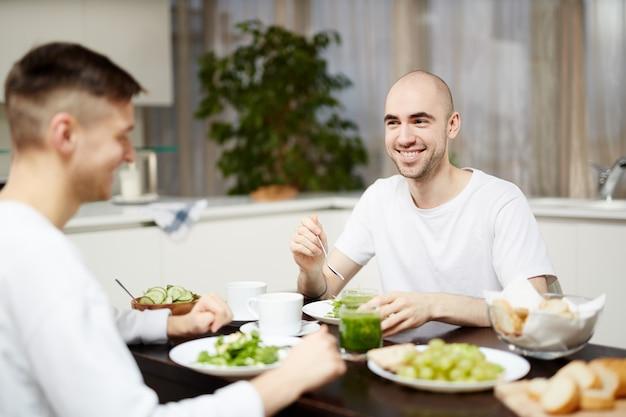 Desayuno de vegetarianos.