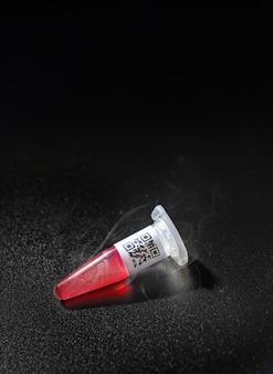 Descongelación de crio-muestra sacada del crio-almacenamiento