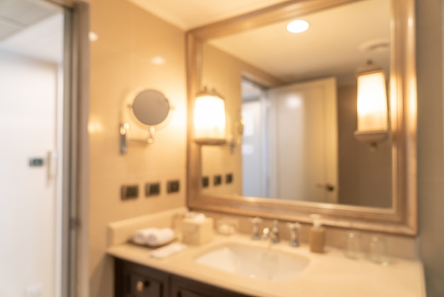 Desenfoque abstracto baño o inodoro