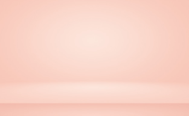 Desenfoque abstracto de fondo de tono cálido cielo de color rosa melocotón hermoso pastel para el diseño como banner, presentación de diapositivas u otros