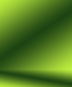 Desenfoque abstracto vacío estudio degradado verde bien uso como fondo, plantilla de sitio web, marco, informe comercial.