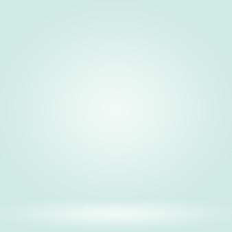 Desenfoque abstracto vacío verde degradado studio bien utilizar como fondo, plantilla de sitio web, marco, informe comercial