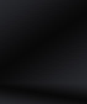 Desenfoque de lujo abstracto degradado gris oscuro y negro, utilizado como pared de estudio de fondo para exhibir sus productos.